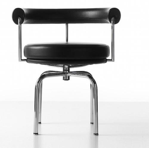 Lc7 sedia poltroncina le corbusier perriand cassina arredamento idea biella - Sedia le corbusier ...