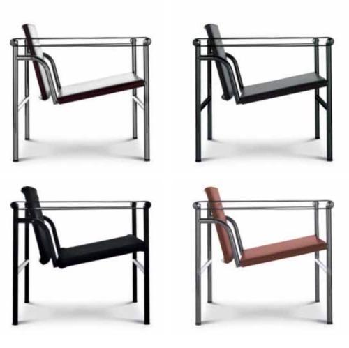 LC1 poltrona Le Corbusier Cassina | Arredamento Idea Biella