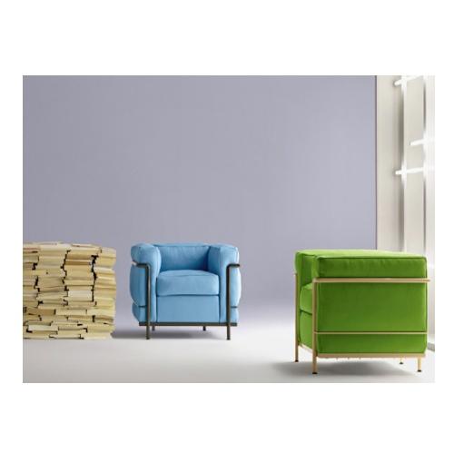 LC2 poltrona Le Corbusier Cassina | Arredamento Idea Biella