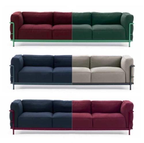 LC3 divano Le Corbusier Cassina   Arredamento Idea Biella