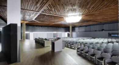 Sala conferenze biblioteca Roma